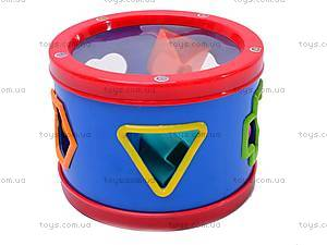 Детский барабан «Логика», 025B, фото