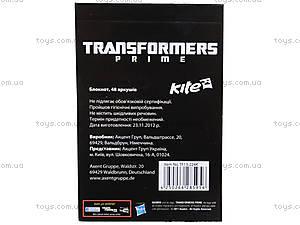 Детский блокнот Transformers, 48 листов, , купить