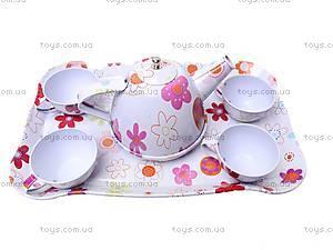 Детский чайный сервиз «Цветы», S050, купить