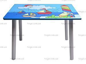 Детский деревянный столик, E03-2100, купить
