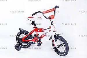 Детский двухколесный велосипед Cora 12 BMX, красный, RA-35-116