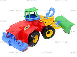 Детский экскаватор «Тигрес», 39212, детские игрушки