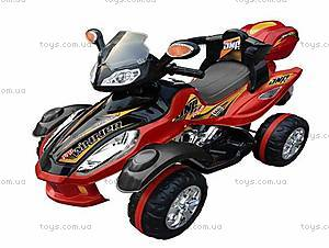 Детский электроквадроцикл черного цвета, K-010
