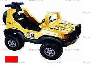 Детский электромобиль «Джип», р/у, YC202-RED