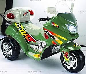 Детский электромотоцикл, 03010311 ЗEЛ