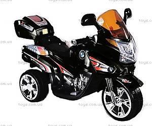 Детский электромотоцикл, черный, BT-BOC-0068 B