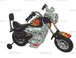 Детский электромотоцикл Harley, черный, SC-893-BLACK