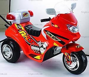 Детский электромотоцикл, красный, 03010312 KP (