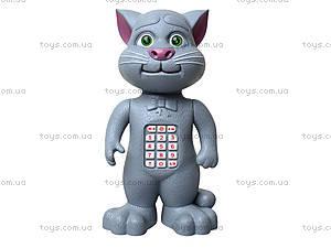 Детский говорящий «Кот Том», T055, игрушки