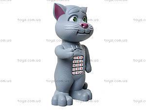 Детский говорящий «Кот Том», T055, детские игрушки