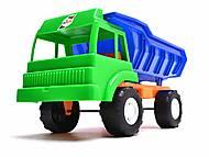 Детский грузовик, для песочницы, 136, игрушка