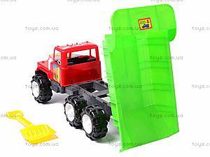 Детский грузовик «Фаворит», 08-807, отзывы