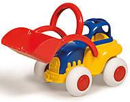 Детский трактор с ковшом, 19 см, 1232
