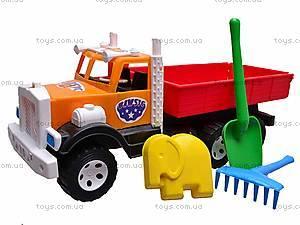 Детский грузовик, с квадратным кузовом, 0091