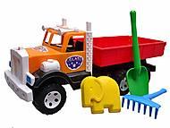 Детский грузовик, с квадратным кузовом, 0091, фото