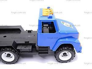 Детский грузовик, с лопаткой и формочками, 184, купить