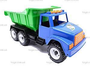 Детский грузовик, с лопаткой и формочками, 184, игрушки