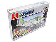 Детский игровой конструктор «Авиация», M38-B0362