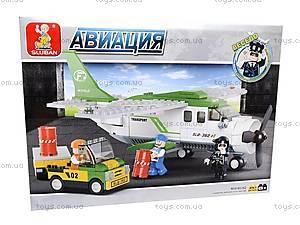 Детский игровой конструктор «Авиация», M38-B0362, игрушки