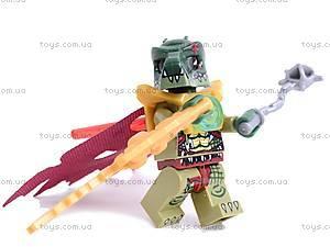 Детский игровой конструктор Chima Legend, 5001-5003, детские игрушки