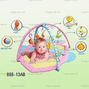 Детский игровой коврик, с сумкой , 898-13B