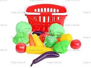 Детский игровой набор «Овощи в корзине», Влас., магазин игрушек