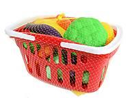 Детский игровой набор «Овощи в корзине», Влас., детский