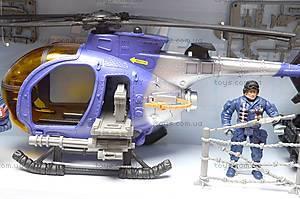 Детский игровой набор «Полицейский участок», E110-16, фото