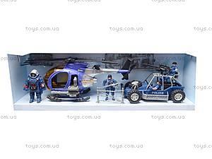 Детский игровой набор «Полицейский участок», E110-16, детские игрушки