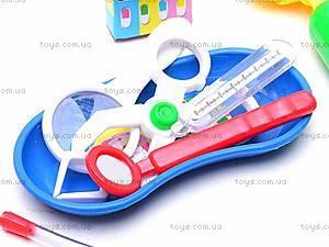 Детский игровой набор «Врач», 1834 АВС, toys.com.ua