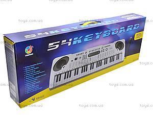 Детский игровой орган с микрофоном, SD5411, игрушки