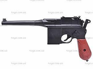 Детский игровой пистолет с пульками, C96+