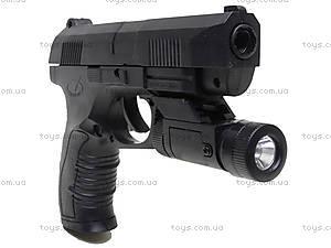 Детский игровой пистолет с пулями, 976B, фото