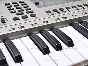 Детский игровой синтезатор с микрофоном, SD5410, купить