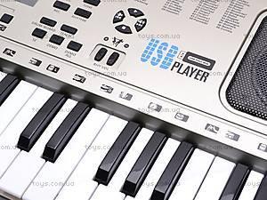 Детский игровой синтезатор с микрофоном, SD5410, отзывы