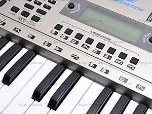 Детский игровой синтезатор с микрофоном, SD5410, цена