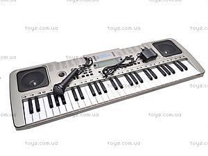 Детский игровой синтезатор с микрофоном, SD5410