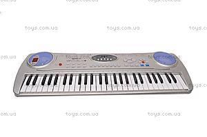 Детский игровой синтезатор, с микрофоном, SD998-A, купить