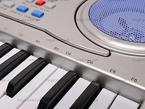 Детский игровой синтезатор, с микрофоном, SD998-A, цена