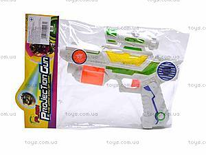 Детский игрушечный музыкальный пистолет, 3939-8, купить