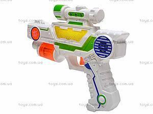 Детский игрушечный музыкальный пистолет, 3939-8, отзывы