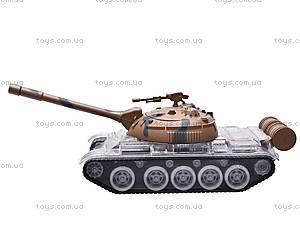 Детский игрушечный музыкальный танк, A333-20, фото