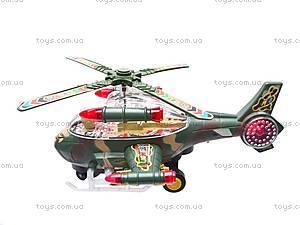 Детский игрушечный музыкальный вертолет, 3319, купить