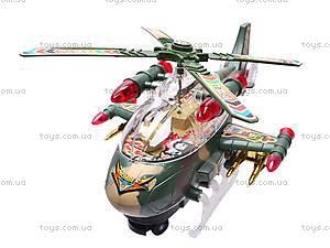 Детский игрушечный музыкальный вертолет, 3319, фото