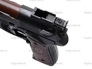 Детский игрушечный пистолет с пулями, 231-4, детские игрушки