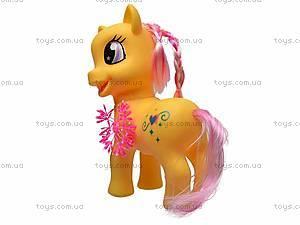Детский игрушечный пони, с аксессуарами, HY8588-C1, фото