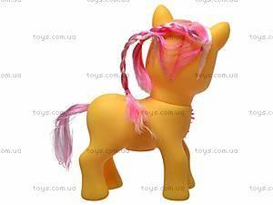 Детский игрушечный пони, с аксессуарами, HY8588-C1, отзывы