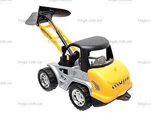 Детский игрушечный трактор, 607, фото