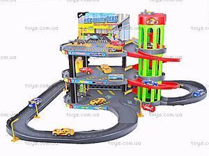 Детский игрушечный трехэтажный паркинг, P4888A-3