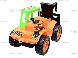 Детский инерционный экскаватор, SY08B, игрушки